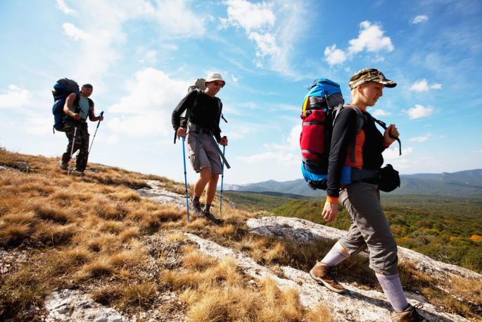 Amélioration de la santé par le trekking